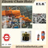 grue à chaînes électrique diplôméee par CE de nouvelle conception de la double vitesse 7.5ton à télécommande