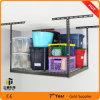 판매를 위해 새로운 차고 저장 시스템 아이디어 천장 선반 선반설치 금속 조정가능한 DIY