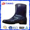 De glanzende Laarzen van de Regen van pvc van de Manier Comfortabele voor Kinderen (TNK70014)