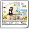 3D Multilayer Wall Sticker para Child Dd001