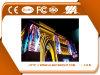 Colore completo di Abt che fa pubblicità alla visualizzazione di LED esterna P10 del TUFFO