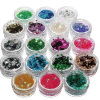 Popular de calidad superior Glitter Powder Factory Used para Ornament