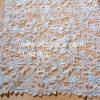 Ivory Polyester geschnürtes Guipurespitze-Spitze-Gewebe für Hochzeits-Großverkauf Vl-62187c