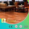 Woodgrainの質のカシのビニールは端の木製の木の積層の薄板にされた床にワックスを掛けた