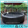 Draagbare Whirlpool voor Bathtub (pH050014 Black)