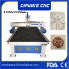 Машина цилиндра маршрутизатора CNC Ck1325 3D деревянная высекая