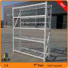 Вешалка гаража высокого качества, стеллаж для выставки товаров стали 5 слоев