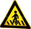 Aluminium에 있는 Passengers Sign Made에 세이셸 Pay Attention