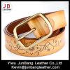 Qualitäts-Form-Dame-echtes Leder-geprägte Riemen