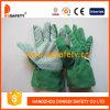 Перчатки хлопка садовничая с многоточиями PVC на ладони Dgb110