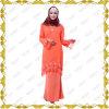 Femmes musulmanes d'approvisionnement d'OEM vêtant le Kaftan Jubah Baju Kebaya d'Abaya d'usine