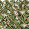 Rete fissa artificiale di plastica decorativa del giardino delle barriere