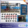 Máquina automática llena horizontal del moldeo a presión de la alta calidad para la guarnición del PVC