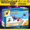 Blocs constitutifs en plastique de jouets éducatifs de modèle de lanterne de DIY