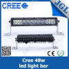 E-MARK para a barra clara do diodo emissor de luz do CREE do telhado 48W do jipe Waterproof IP67