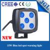 15W 포크리프트 경고를 위한 파란 반점 광속 크리 사람 LED 일 램프