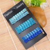 Bijoux fantaisie à la mode 6cm Wave Card Serties métalliques en paquet (JE1020)