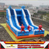 Oceano Theme Giant Happy Hop Inflatable Dry Slide per Kids