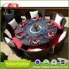 등나무 Chair Dining Table Set, 6 Chairs (DH-9582)를 가진 Round Dining Table