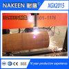 Máquina de estaca da tubulação de aço do CNC de três Aixs de Nakeen