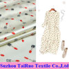 tela de seda del estiramiento del 108cm para la tela de seda de la alineada