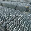 Plain galvanizado Grating Aço