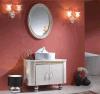 Vanité bon marché de salle de bains d'acier inoxydable (T-002)
