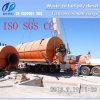 Gomma residua 100% di alta obbligazione di profitto che ricicla il dell'impianto di pirolisi nel petrolio
