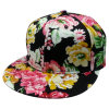 Casquillos del Snapback con la tela floral Sb1511