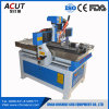 Máquina de madeira do router do CNC que anuncia a máquina de gravura de madeira