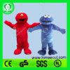 Olá! En71 Elmo e traje da mascote do monstro do bolinho