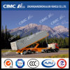 Cimc Huajun 40FT 3axle Flatbed Arrière-Tipping Container Semi Trailer
