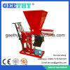 Machine de fabrication de brique manuelle d'Intrelocking de cavité d'argile d'Eco Brava mini