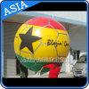 Balão inflável do hélio para a venda com logotipo da estrela