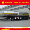 반 42cbm 3 차축 기름 또는 연료 탱크 트레일러