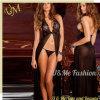 Usure sexy de club de lingerie de femmes pour des robes de vêtements de nuit de long arrière d'adultes