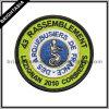 Kundenspezifisches Qualitäts-Form-Goldmetallische Gewinde-Stickerei-Änderung am Objektprogramm (BYH-10955)