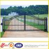 Porte galvanisée par noir de fer travaillé de pipe/porte de Countyard