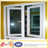 Finestra di alluminio di doppio stile di vetro Tempered nuovo/finestra di alluminio