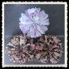 Preiswerte schöne gedruckte Blumen-Chiffon- Gewebe-Haar-Blumen (FFA-0021)