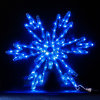 0.6*0.6m LED Snowflake Christmas Decoration Light