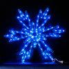 0.6*0.6m СИД Snowflake Christmas Decoration Light