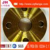 Bride jaune d'acier du carbone de la peinture JIS B2220 10k