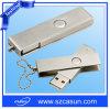 고품질 스테인리스 회전대 선전용 USB 섬광 드라이브