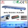 Emergency Ambulance Vehicle Lightbar 1200mm를 위한 3W LED Blue LED Lightbar