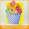 다채로운 귀여운 종이 봉지 만드는 프로세스