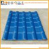 Telha de telhado espanhola plástica da resina sintética do estilo da cor durável