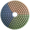 100mm Three Color Wet Diamond Polishing Pad