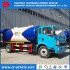 Sinotruk HOWO 4X2 12000L LPGのBobtail 6t LPGタンクトラック