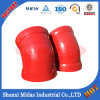 ISO2531 ductile Fonte Di fer long rayon Socket Weld Coude de montage